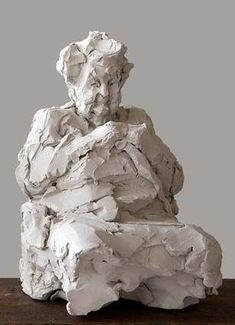 & # Making of & # Elly Gertzen - Statuen - Pottery Sculpture, Sculpture Clay, Abstract Sculpture, Ceramic Painting, Ceramic Art, Ceramic Pottery, Pottery Art, Ceramic Sculpture Figurative, Afrique Art