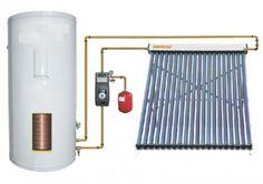 solar water heater 300 Liter single coil 30 vacuum tubes