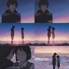 Kimi no na wa ❤ Manga Anime, Film Anime, Mr Bean Movie, Your Name Quotes, Mitsuha And Taki, Kimi No Na Wa Wallpaper, Tsurezure Children, Your Name Anime, Movies And Series