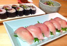 Yellowtail sushi