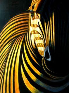 Artinthepicture.com blog » Blog Archive » Frank Bergmann – Spotted Zebra