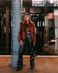 The Coolest Winter Party Outfits, Period | Who What Wear Winter Outfits, Night Outfits, Outfits For Teens, Casual Outfits, Fashion Outfits, Party Outfit Winter, Modern Outfits, Outfit Summer, Rock Star Outfit