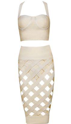 Kimmy Two-Piece Bandage Dress
