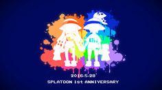 Splatoon1周年おめでとうございます。