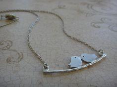 Skinny Bitch Apparel - Love Birds Necklace, $24.00 (http://www.skinnybitchapparel.com/love-birds-necklace/)