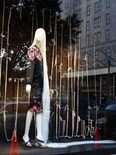 Bergdorf, window displays