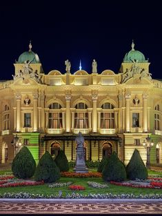 The Juliusz Slowacki Theatre, Krakow, Poland
