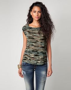 Camouflage is very trendy