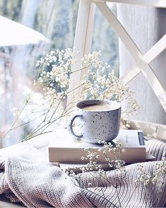 restless bibliophile — elyvein: Cup of Coffee by Anita Jeleń Coffee And Books, Coffee Love, Coffee Break, Coffee Cups, Cozy Aesthetic, Autumn Aesthetic, Flower Aesthetic, Book Wallpaper, Flower Wallpaper