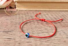 Blue Evil Eye Red String Kabbalah Bracelets Women Men Baby Child Amulet Talisman #monnka