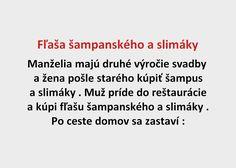 Fľaša šampanského a slimáky - Spišiakoviny.eu