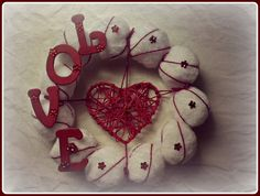 Love wreath by ZeNartprojects on Etsy