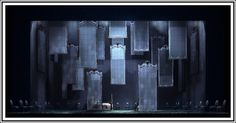 San Francisco Opera production with sets designed by Alessandro Camera
