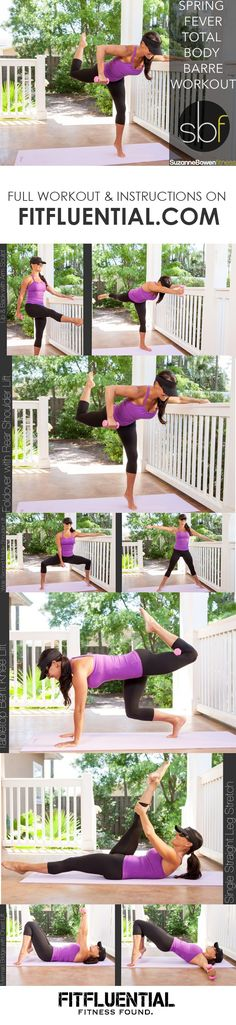 Full body barre workout (click for the full workout)