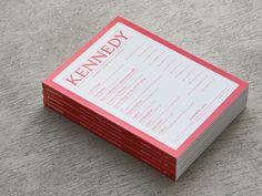 Kennedy Magazine, by Commission Studio
