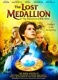 The journey of The Lost Medallion: The Adventures of Billy Stone commences as Daniel Anderson (Alex Kendrick: Courageous, Fireproof, Facing the Giants) visits a foster home to drop off a donation and is quickly roped into telling the kids a story. James Hong, Facing The Giants, Sammi Hanratty, Billy Unger, Christian Films, Adventure Film, Dvd, Tv Shows Online, Family Movies