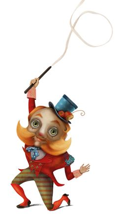 Circus by nicoletta pagano, via Behance