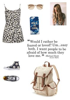 """""""4•4•15"""" by sassy-not-trashy ❤ liked on Polyvore featuring Converse, Witchery, Candie's, Kate Spade, Boohoo and musicwhale"""