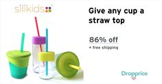 Help me drop the price of the Siliskin Straw Tops & Cups to $2.99 (86% off). The Silikids mission is to be the alternative to plastic, bridge the gap between great design and affordability and improve the way we live.  A win-win for all!  We invite you to GoSili!