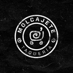 Molcajete Taqueria Logo by Pantelis Nikolaides, via Behance