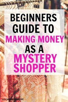 Have you ever wanted to become a mystery shopper and earn extra cash? There are a ton of companies out there who are willing to pay you to shop! Earn Extra Cash, Extra Money, Busy At Work, Work From Home Jobs, Secret Shopper Jobs, Find Jobs Online, Mystery Shopper, Way To Make Money, How To Make