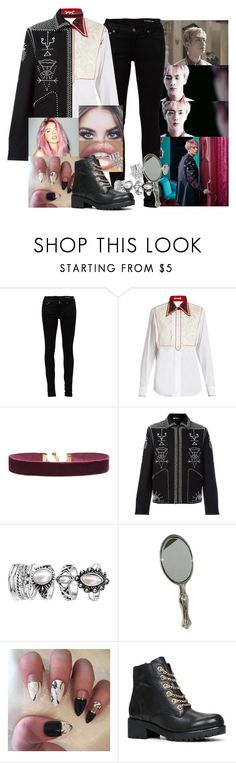 """Blood, Sweat and Tears Female BTS - Jin"" by elliepetkova ❤ liked on Polyvore featuring Yves Saint Laurent, Miu Miu, Vanessa Mooney, Valentino, Prada and ALDO"