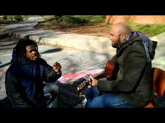 Homeless Man Joins Carlos Whittaker for a Very Moving Performance