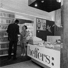 Heffers bookshop, Cambridge, in the mid 1960s