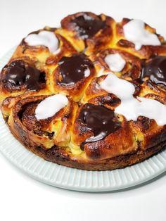 Danish Cake, Danish Dessert, Danish Food, Cake Recipes, Dessert Recipes, Sweets Cake, Best Chef, Let Them Eat Cake, Coffee Cake