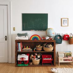 retro vintage kids playroom