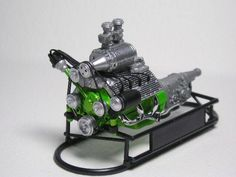 Chopped & Channelled Revell 32 Ford Sedan - Scale Auto Magazine - For building plastic & resin scale model cars, trucks, motorcycles, & dioramas