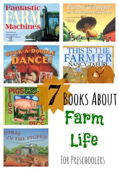 Farm Unit Wrap-Up and Book List - My Mundane and Miraculous Life Books For Boys, Childrens Books, Farm Activities, Animal Activities, Farm Unit, Preschool Books, Preschool Farm, Farm Theme, Children's Picture Books