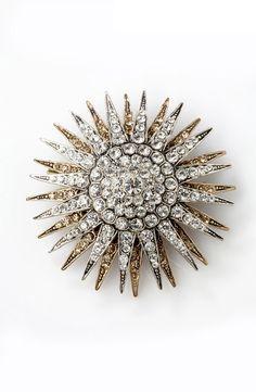 starburst brooch, azaara