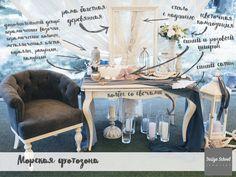 Оформление фотозоны на свадьбу/Wedding photozone