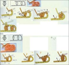Crochet Stitch Illustrated Tutorials. More Patterns Like This!