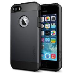 iPhone 5S Case, Spigen Tough Armor Case for iPhone 5/5S - SF Smooth Black (SGP10492) Spigen http://www.amazon.com/dp/B00DMKGSOW/ref=cm_sw_r_pi_dp_o8lpwb0ND3Q6J