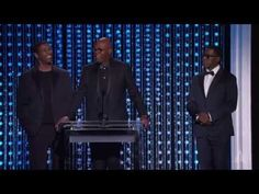 Samuel L. Jackson, Denzel Washington and Wesley Snipes honor Spike Lee at the 2015 Governors Awards - YouTube