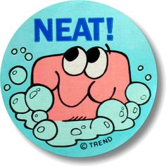Soap Trend scratch and sniff stickers (2nd series) - 1980's