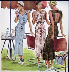 1930s illustration- thought the socks and shoes were interesting.