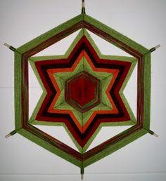 Resultado de imagen para Mandalas tecidas em lã