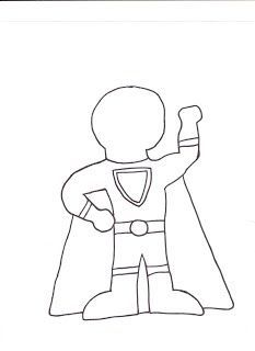 Make your own superhero and have kids write what their power is and why!... Nutrient Superhero
