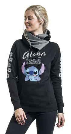Disney Femme Lilo /& Stitch Chillin Sweat-Shirt