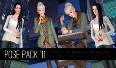 Modern_Lover's Blog || Custom content for The Sims 3: 11 Pose Pack