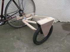 Bicycle Sidecar, Motorcycle Bike, Bike Wagon, Three Wheel Bicycle, Bicycle Crafts, Velo Cargo, Biking With Dog, Side Car, Wooden Bicycle
