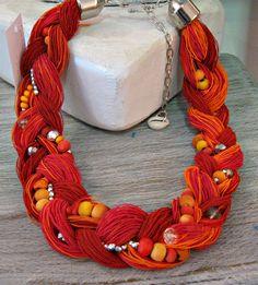 Plaited elastic yarn $ 45