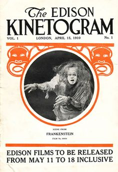Thomas Edison's 1910 Frankenstein Movie Coming To DVD At Last
