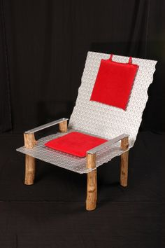 Steel Diamond Plate Chair By TimothyAdamDesigns On Etsy, $2745.00