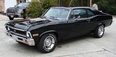 1971 Chevy Nova - little black dress