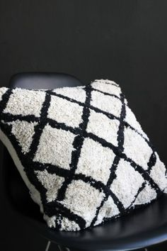 Copenhagen Black & Ivory Cushion