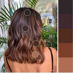 color ideas ideas 50 year old woman ideas app ideas medium ideas concert ideas wedding guests hairstyle for ideas bangs ideas Brown Hair Balayage, Hair Color Balayage, Hair Highlights, Medium Hair Styles, Curly Hair Styles, Twisted Hair, Gorgeous Hair, Hair Looks, Dyed Hair